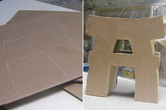 Fabriquer Un Tabouret En Carton Carton Mobilier De Salon Meubles En Carton