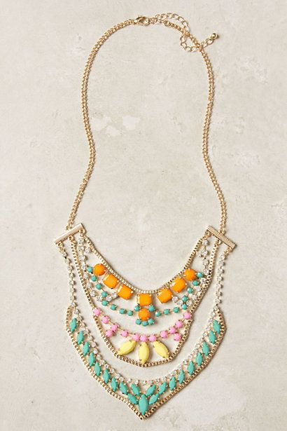Sugar Coated Necklace #anthropologie