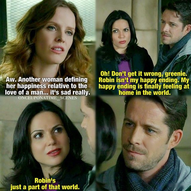 """Yes to everything about this scene! I love Regina realizing that her happy ending being """"finally feeling at home in the world."""""""