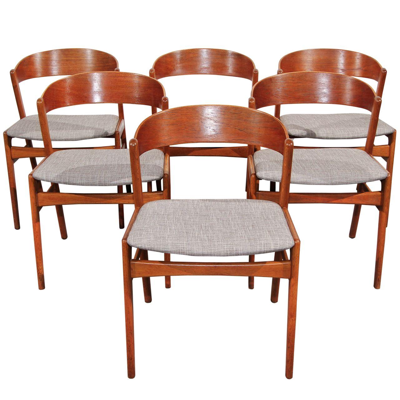 Fine Ribbon Back Teak Dining Chairs By Dux Teak Dining Chairs Short Links Chair Design For Home Short Linksinfo