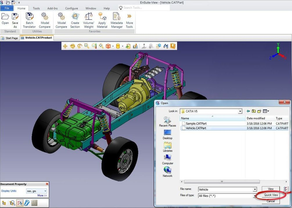 Explore the free #CAD viewer - #EnSuite-View today