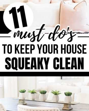 11 easy cleaning hacks tips and tricks that are the secret to keeping your home clean. These life changing helpful hints are perfect lazy girl cleaning tips for your home. #cleaningtips #cleaninghacks #springcleaning