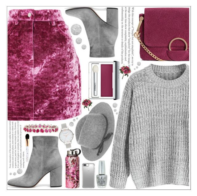 """""""style"""" by lena-volodivchyk ❤ liked on Polyvore featuring Topshop, Accessorize, Clinique, Speck, OPI, Diana M. Jewels and Olivia Burton"""