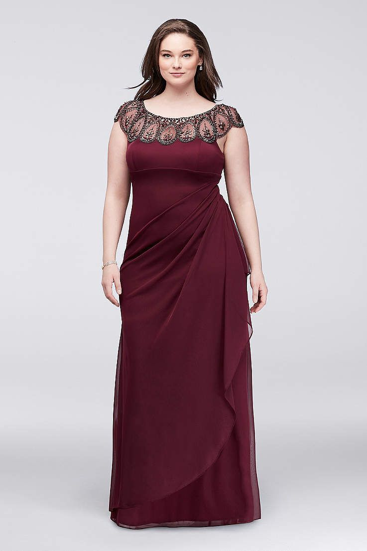 Plus size party dresses for weddings  Find the perfect womenus plus size dresses at Davidus Bridal for any