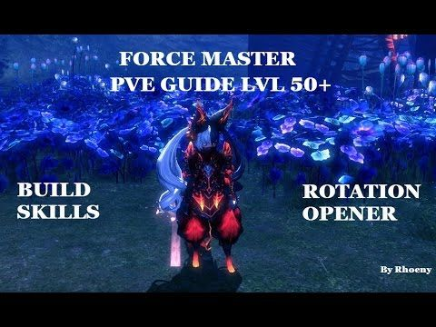 Sowutbruh S Blade And Soul Forcemaster Pve Guide Basics Of Burn