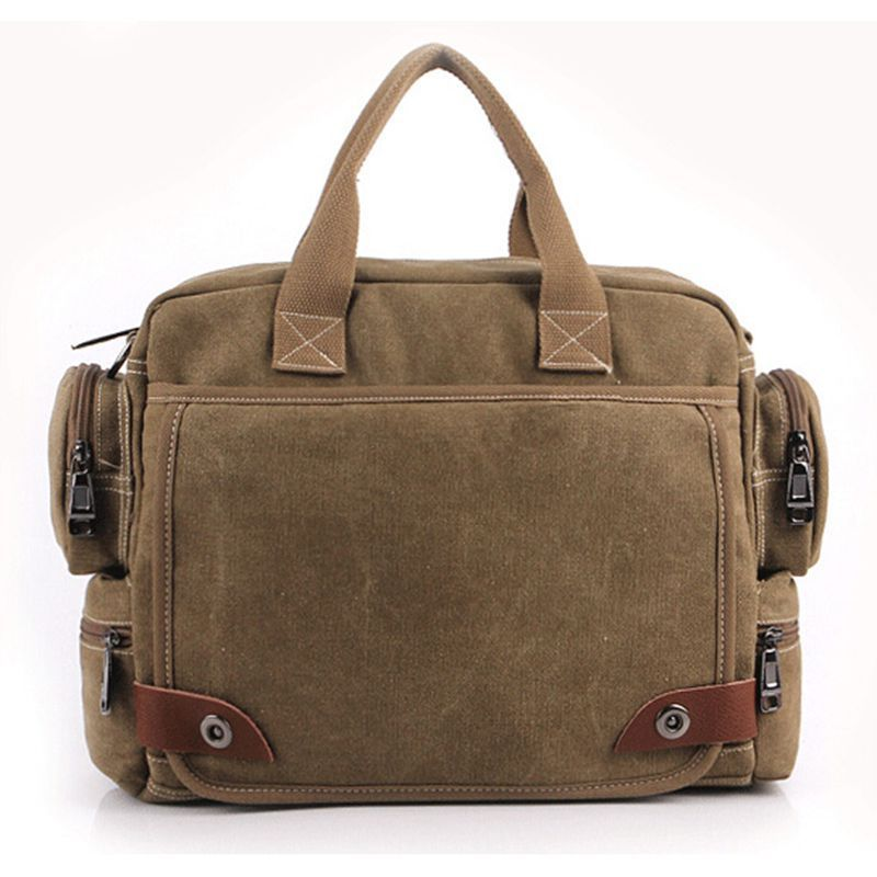 (Buy here: http://appdeal.ru/1ics ) canvas mens messenger bags 2015 New army style vintage crossbody bag men travel bags man laptop shoulder bag W13-83 for just US $48.20