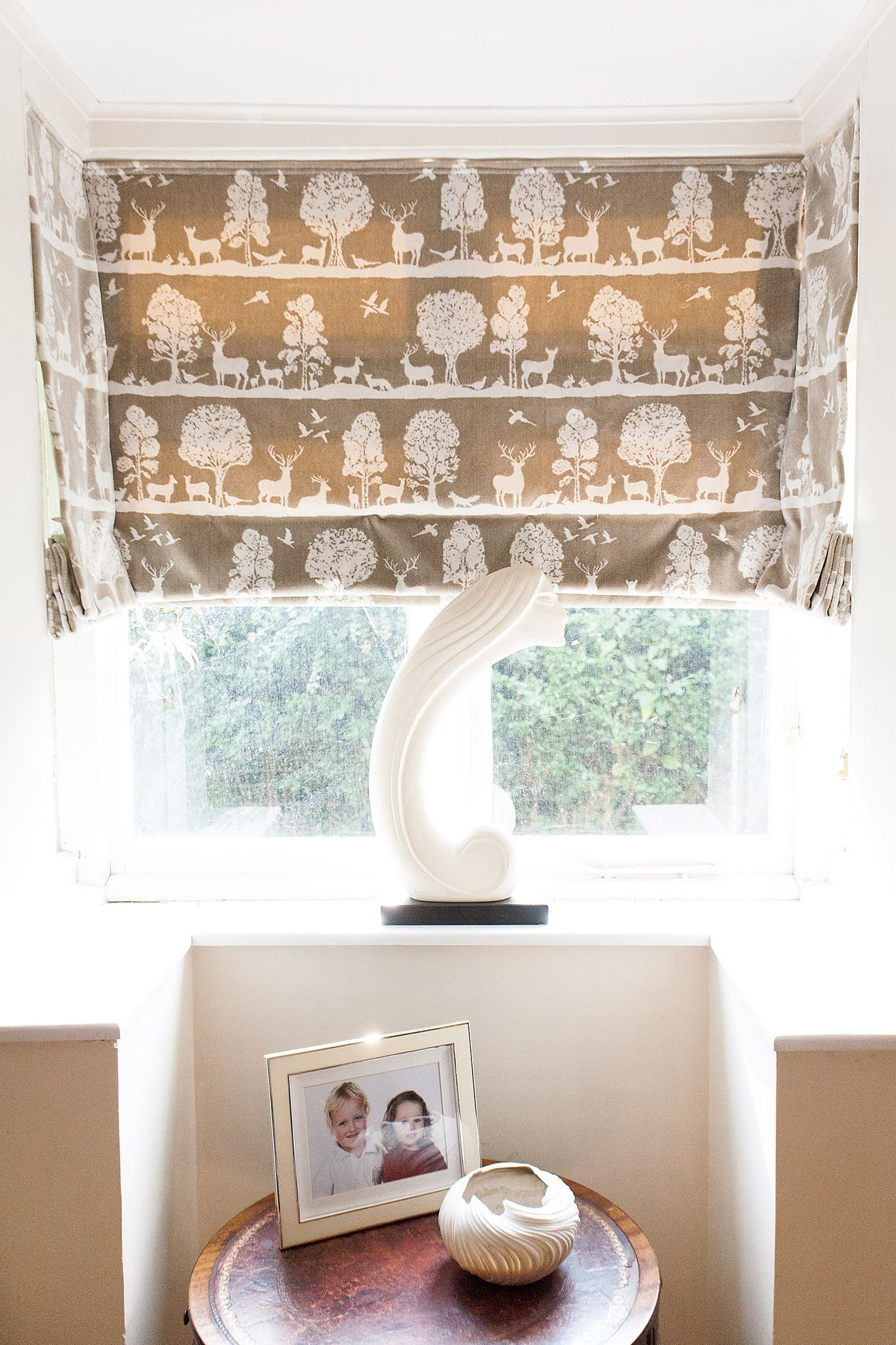 Three Interlined And Thermal Lined Velvet Blinds Set In A