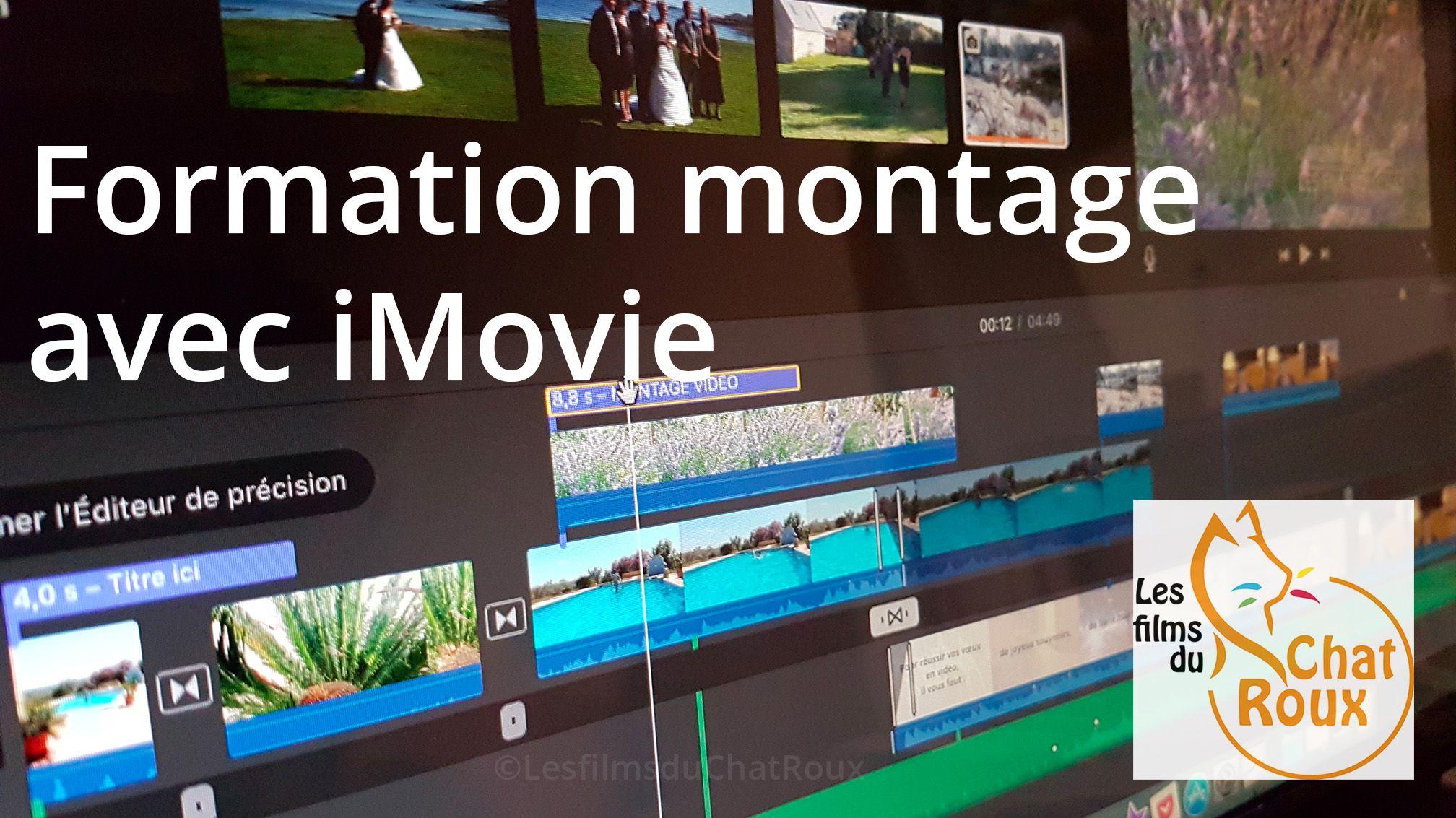 Formation montage avec iMovie