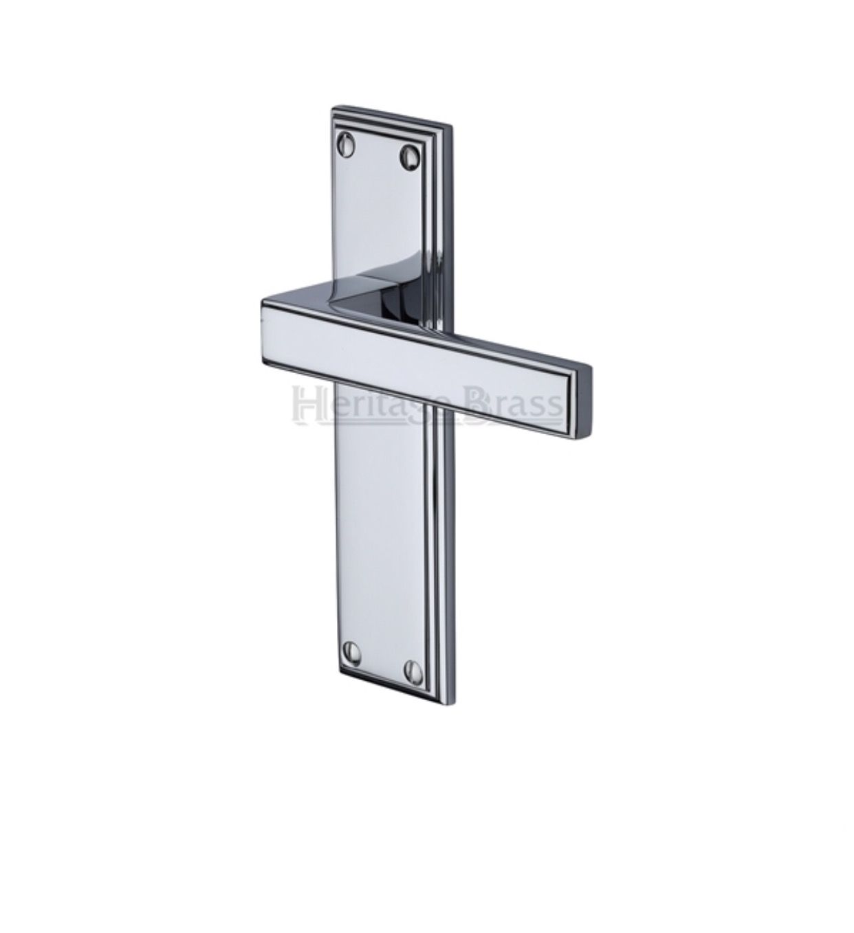 Atlantis Door Handles On Backplate Dimensions 185mm X 48mm