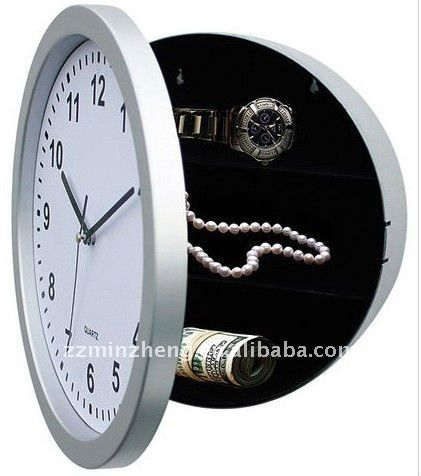 Wall Clock With Hidden Storage Wall Clock Hidden Storage Clock