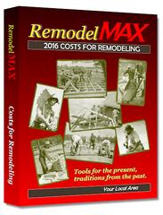Estimating Manuals – RemodelMAX