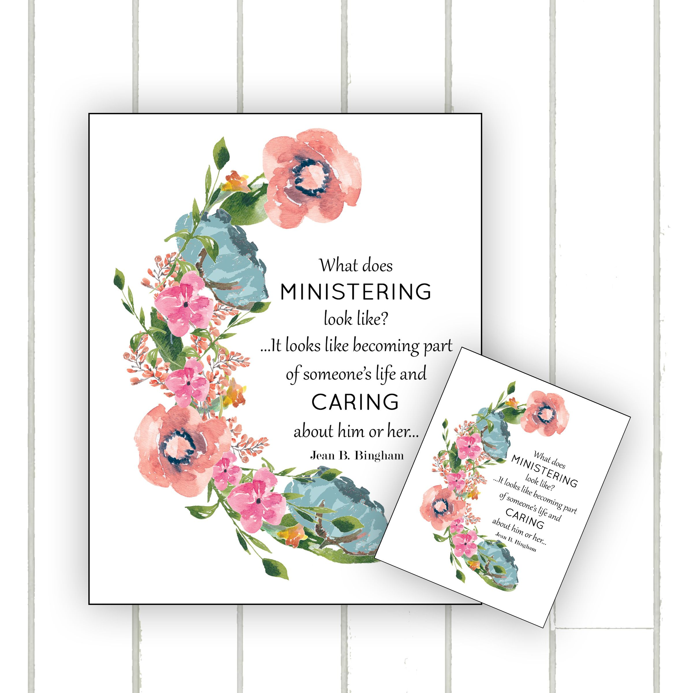 Ministering As The Savior Does Relief Society Printable