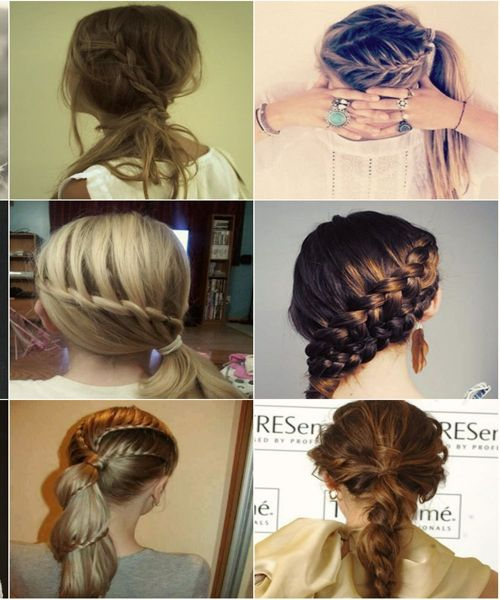 Prom Hair with Braids Tumblr