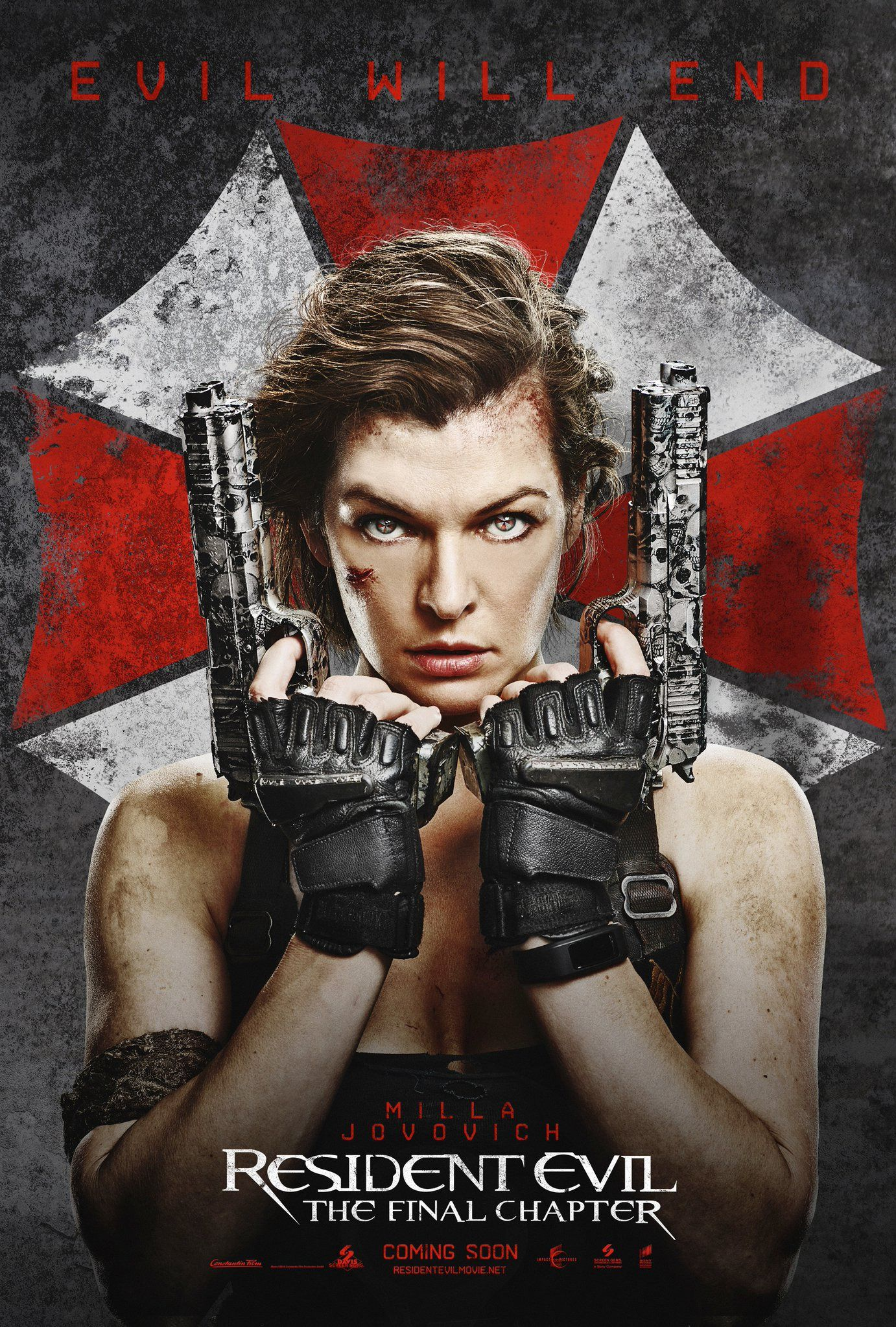 Two New International Posters For RESIDENT EVIL: THE FINAL CHAPTER Debut