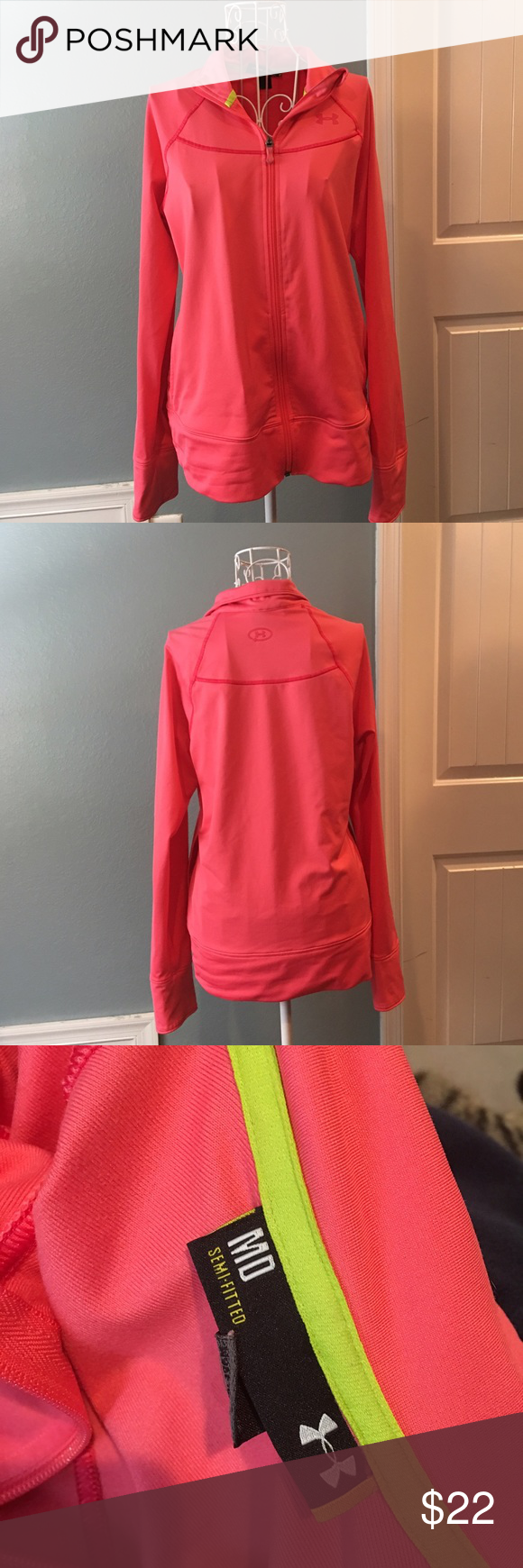 Under Armour Workout Jacket New condition! Size medium! No flaws Under Armour Jackets & Coats