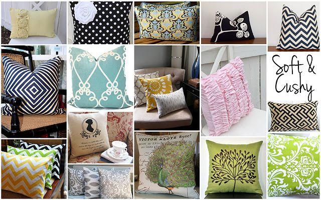 Pillows galore!