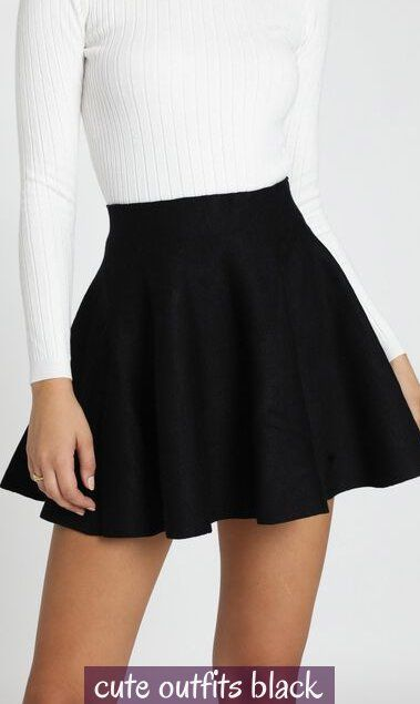 cute outfits black