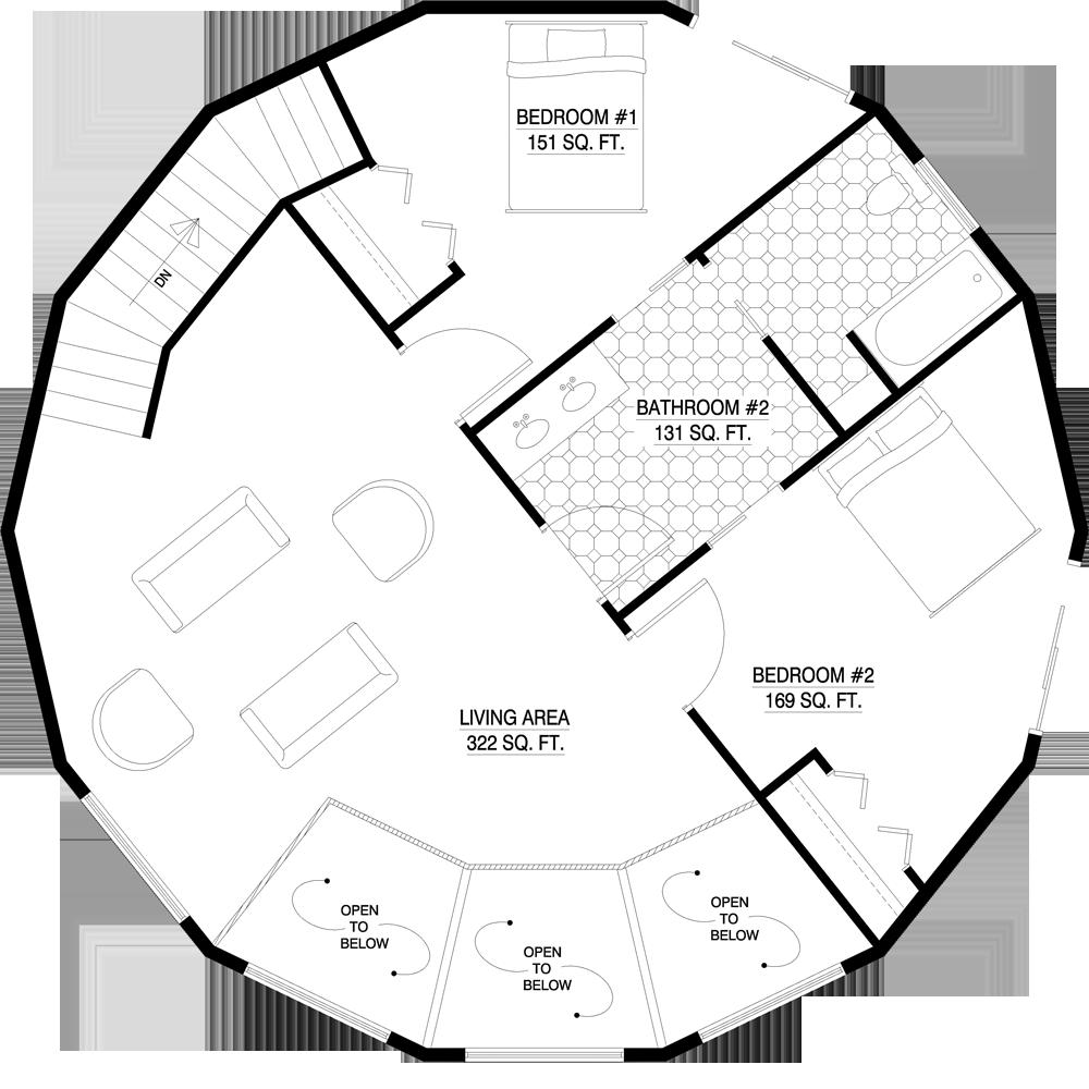 Tiny Home Designs: Deltec Homes- Floorplan Gallery