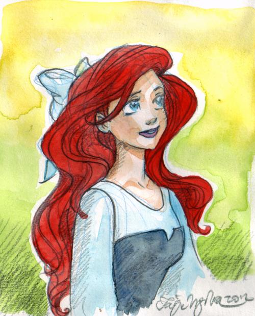 Taija's Drawing Board: Ariel