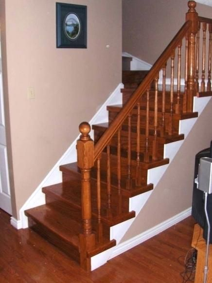 Wooden Railing Designs For Stairs Staircase India 9 ...