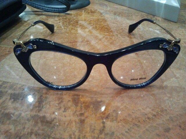 542be334dba7 My new Miu Miu eyeglasses...amethysts studded Dragonflies! | Eye see ...