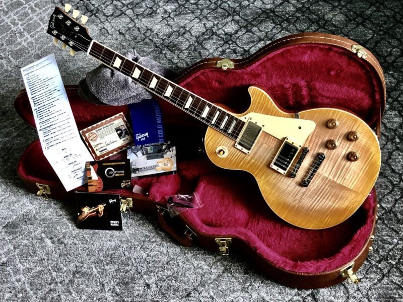 The Best Gibson Les Paul Deal Online R8 R9 1959 Spec D Traditional Fully Loaded Best Guitar Site Online Gibson Les Paul Gibson Guitars Guitar