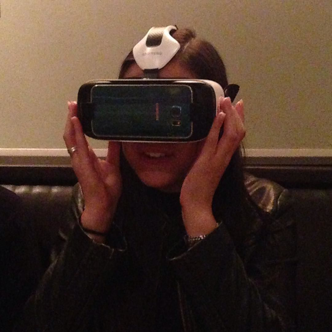 An awesome Virtual Reality pic! #Virtualreality#whateveryfamilydoesatdinner#stlouis#claudia by alvaughan7 check us out: http://bit.ly/1KyLetq