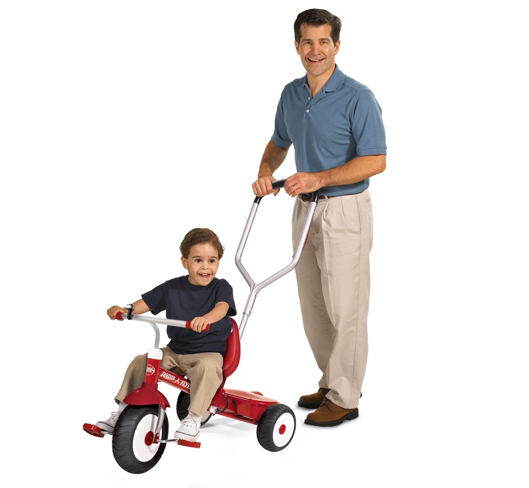 Deluxe Steer & Stroll® Trike Tricycle, Kids trike, Radio