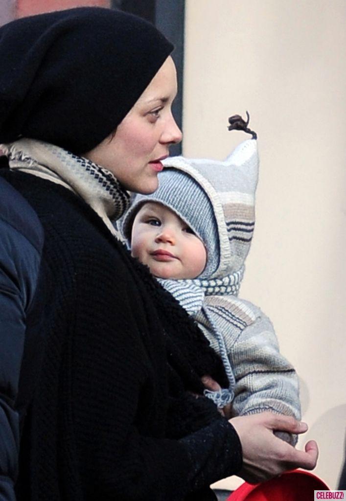 Marion Cotillard & baby Marcel | celebrity couples ...