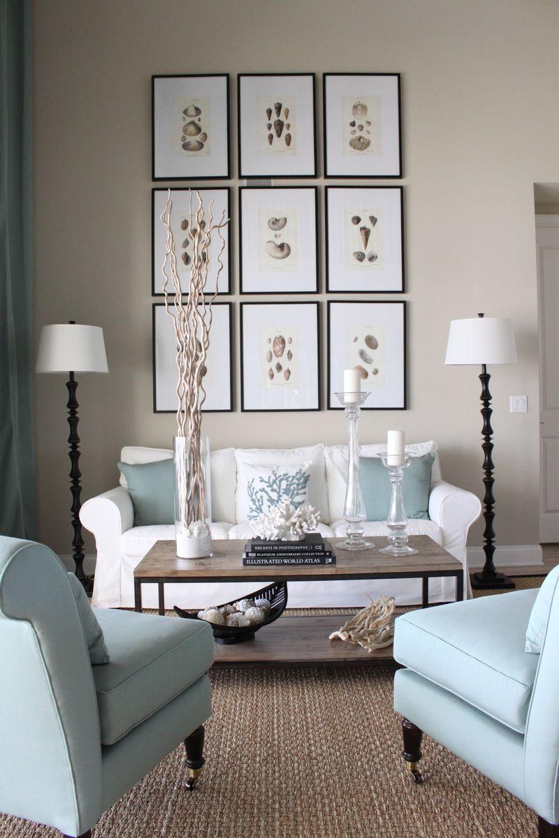Small Living Room Wall Decorating Ideas: Room Designed By Kristy Seibert Www.starfishcottageblog