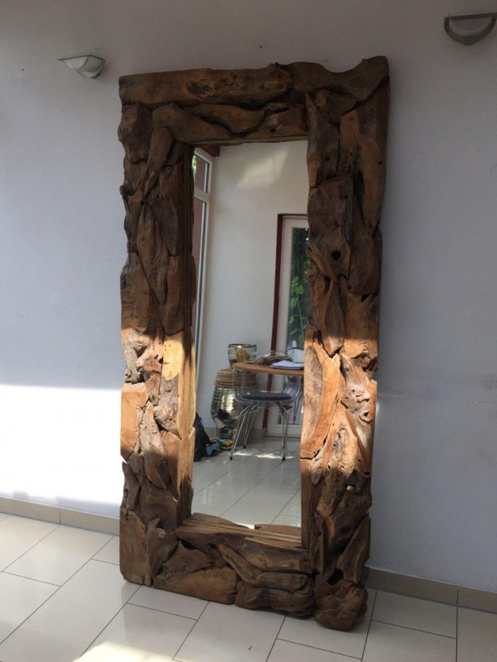 spiegel altholz rahmen wandspiegel ma e 200x100 cm spiegel wohnaccessoires spiegel. Black Bedroom Furniture Sets. Home Design Ideas
