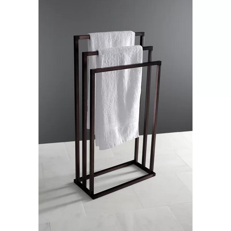 Edenscape 3-Tier Pedestal Free Standing Towel Stan