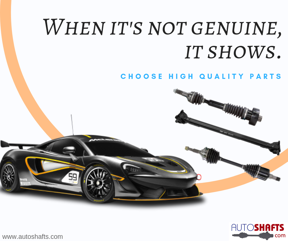 When it's not genuine, it shows. Choose high quality parts