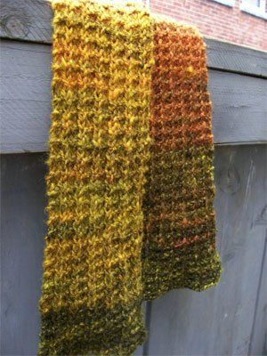One Row Handspun Scarf Knitted Scarves Pinterest Knitting