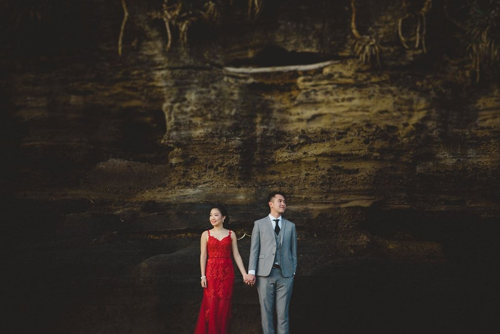 J&J: Bali Pre-wedding Shoot From Sunrise to Sunset (Volcano, Waterfall, Rice Field and Beach) by Cahya on OneThreeOneFour 29