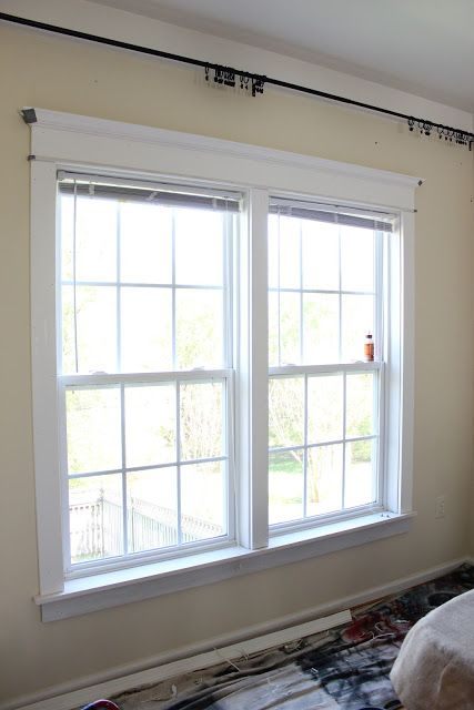 Elegant Window Trim Was Able To Use The Same 1 X 4 Material Even Though Reveal