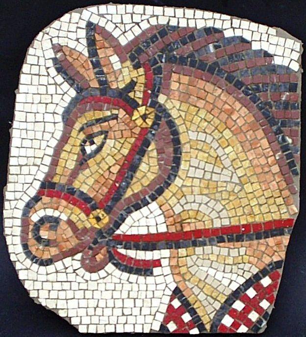 Horse Head 1 Tablolar Mozaik