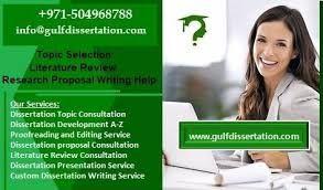 Dissertation help in dubai