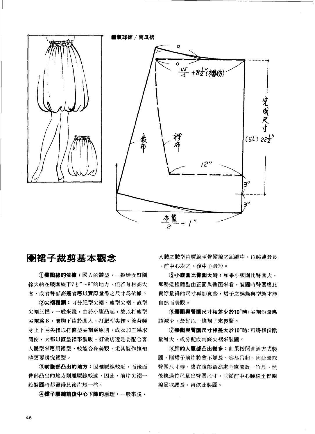 1989 cutting chapter skirts China | 패턴 | Pinterest | Costura ...