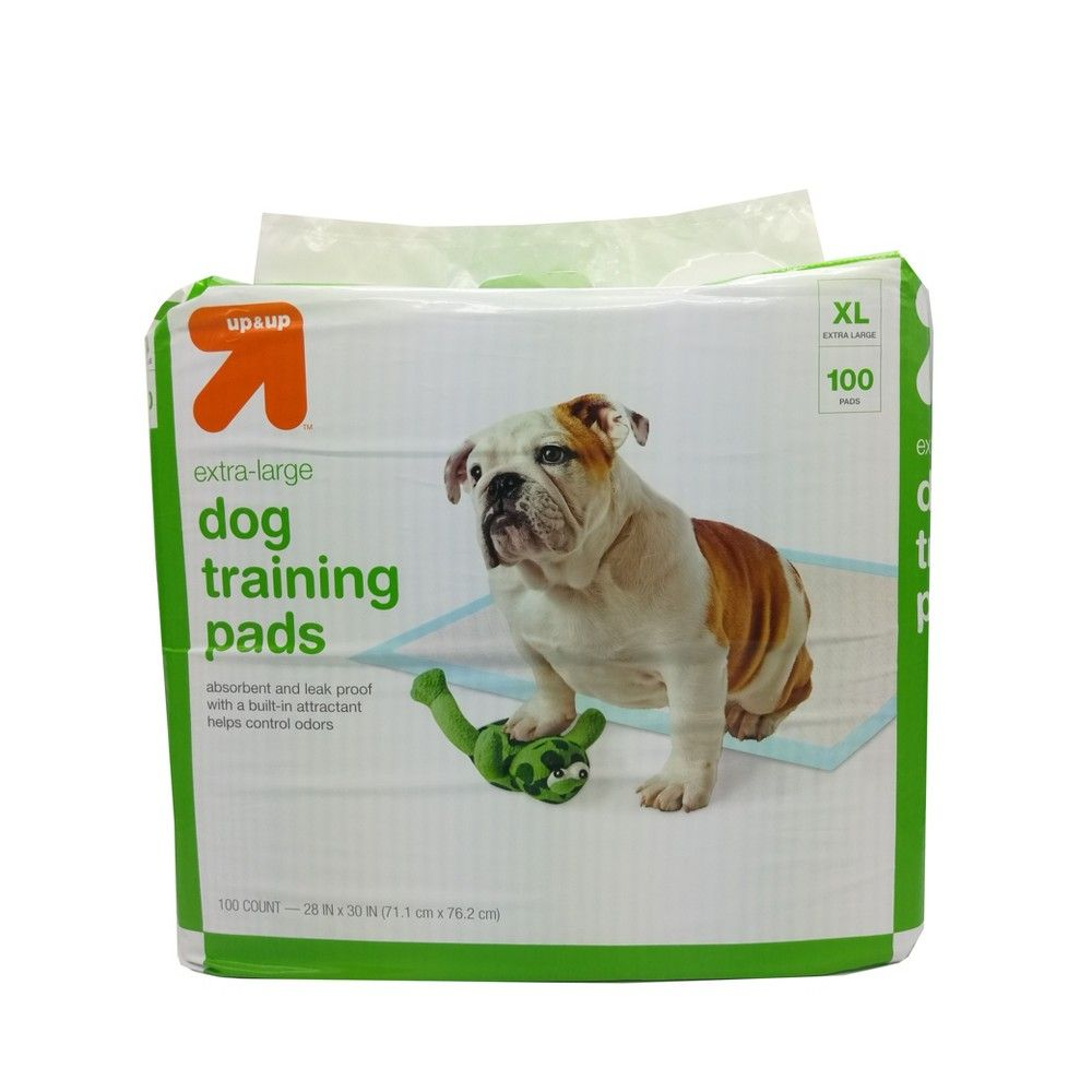 Puppy And Adult Dog Training Pads Xl 28 X 30 100ct Up Up