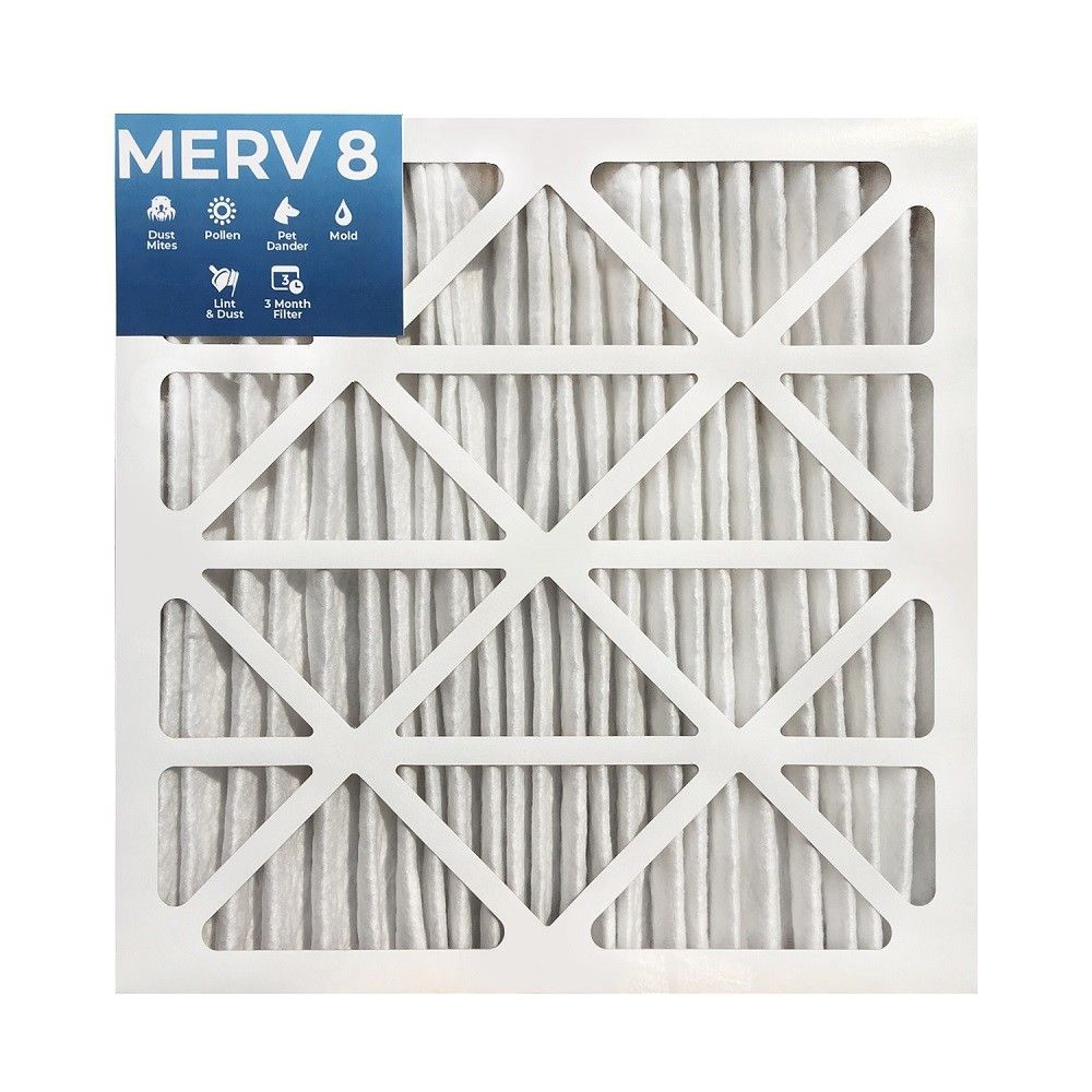 "Details about 20x20x2 MERV 8 Pleated 2"" Inch Air Filters"