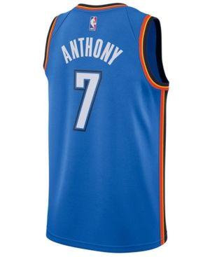 sports shoes 996c0 ff800 Nike Men's Carmelo Anthony Oklahoma City Thunder Icon ...