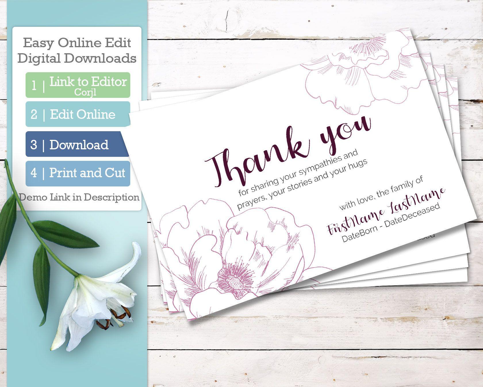 signing a sympathy thank you card invitations4weddings