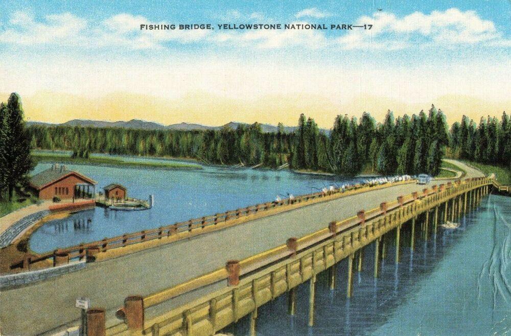 Fishing Bridge Yellowstone Wyoming OC - Photorator