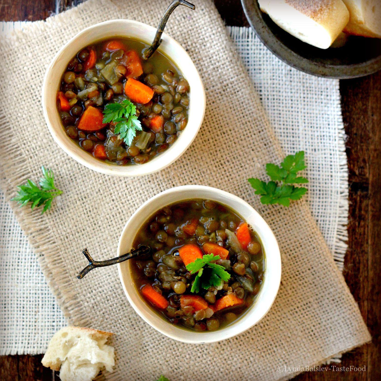 Lentil Soups tastefood Meal prep diet, Diet snacks