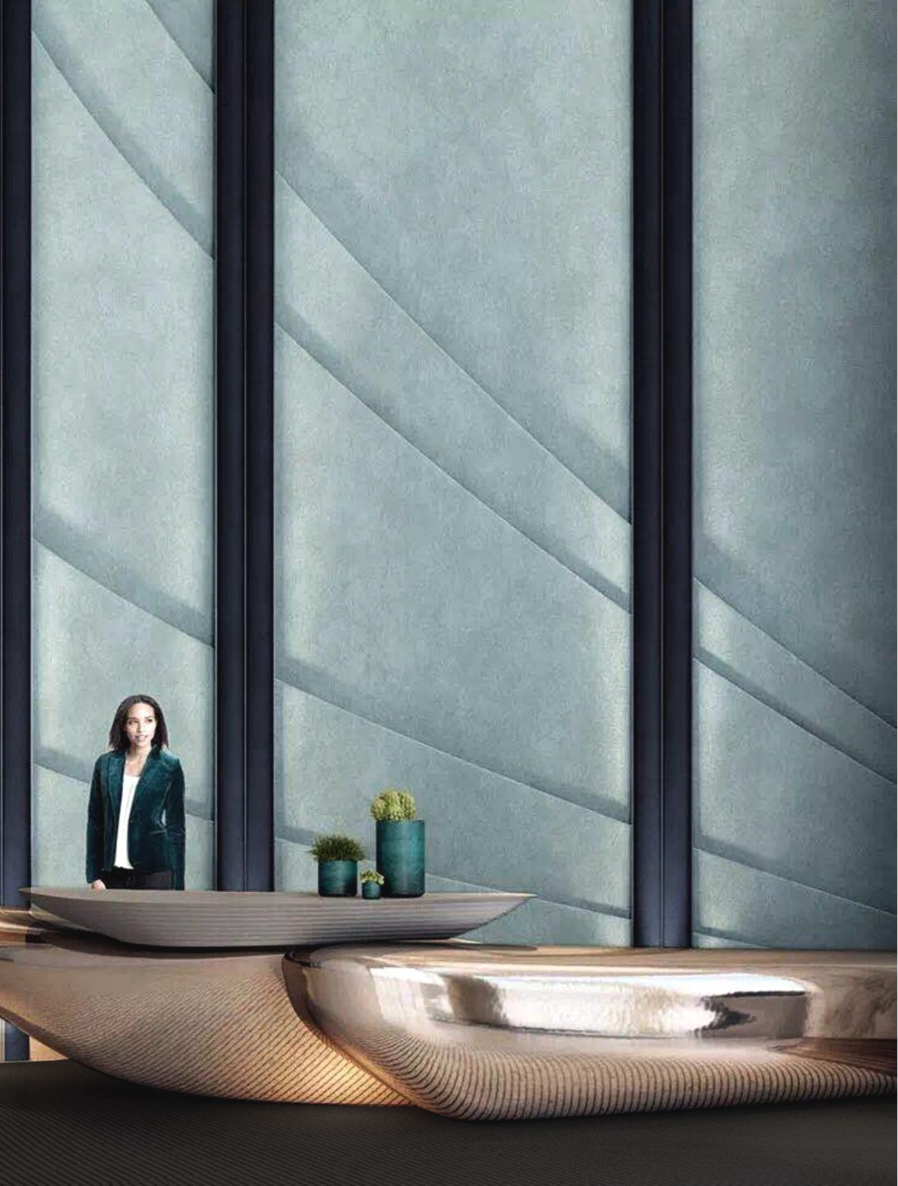Interior Design Inspirations For Your Luxury Hotels Reception