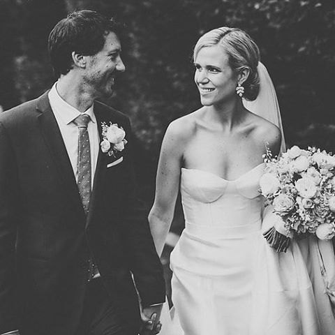 Congratulations Amy & Kane's. See more of this stunning wedding on our blog now. {link in bio}   Photo – @zoetakesaphoto  Karen Willis Holmes sequin wedding dress.   Photographer  - @beksmithjourna Gown - 'Antoinette' @KWHBridal