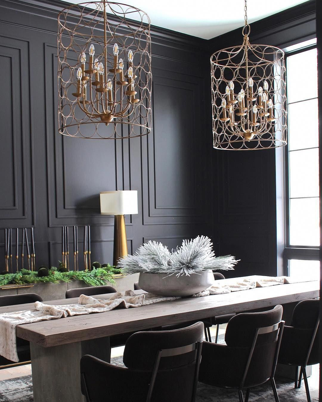 Modern Home Design Calgary Modernhomedesign Black Dining Room