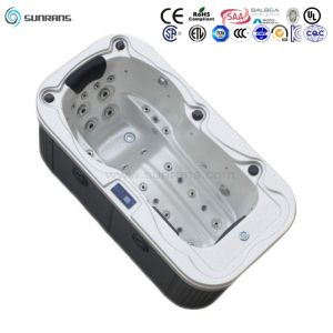 Hot Item New Design Luxury Mini Indoor 1 Person Hot Tub Spa Spa Hot Tubs Hot Tub Small Hot Tub