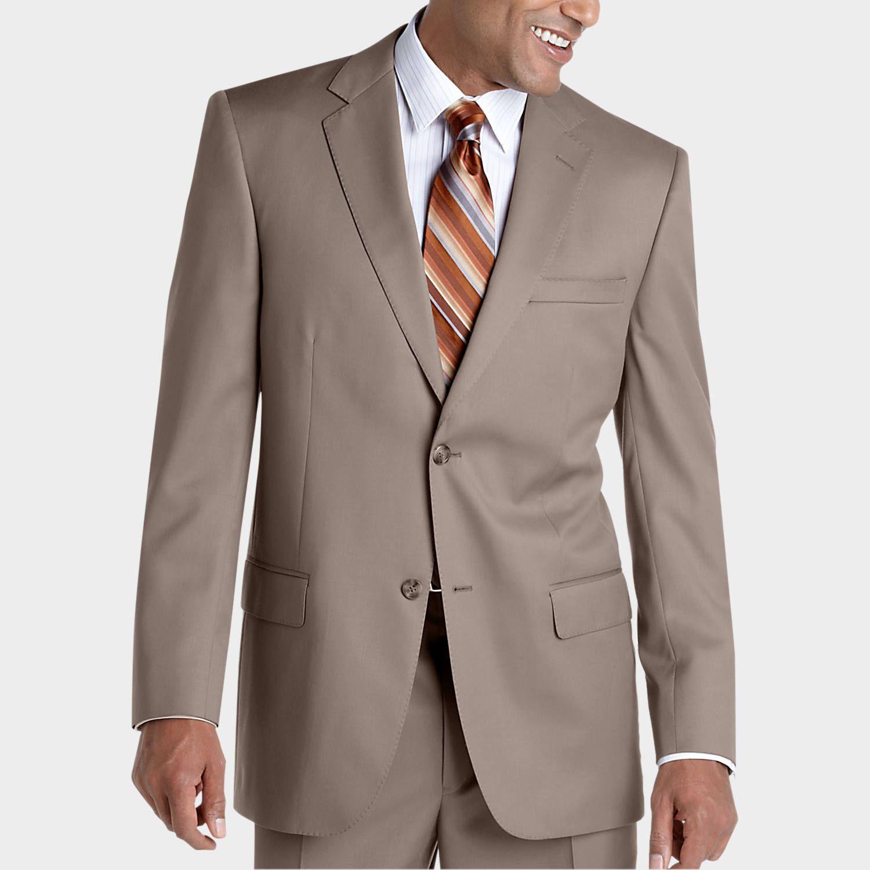 Joseph & Feiss Gold Suit, Tan | Mens Wearhouse | Suits ...